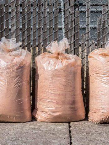 Redwood Sawdust in Bags