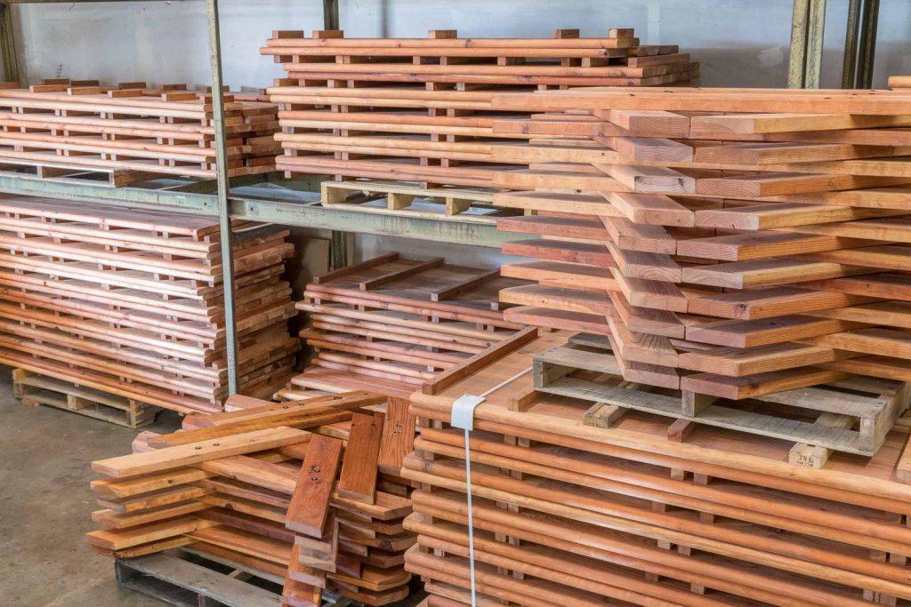 Redwood Furniture in Warehouse