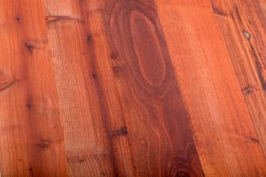 Laminated Redwood Table Top