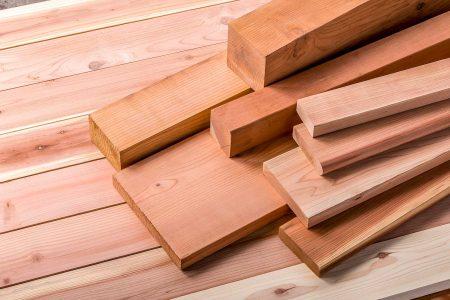 Redwood Dimensional Lumber
