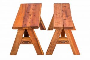 Comparison of Redwood Bench widths