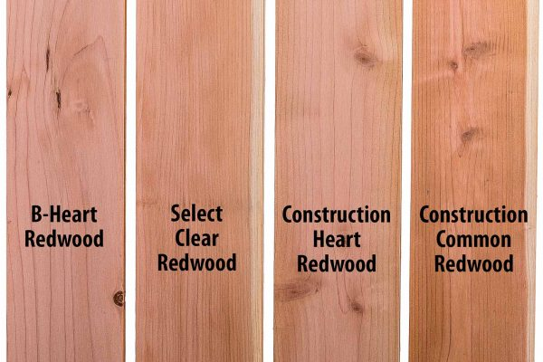 Redwood Lumber Grades
